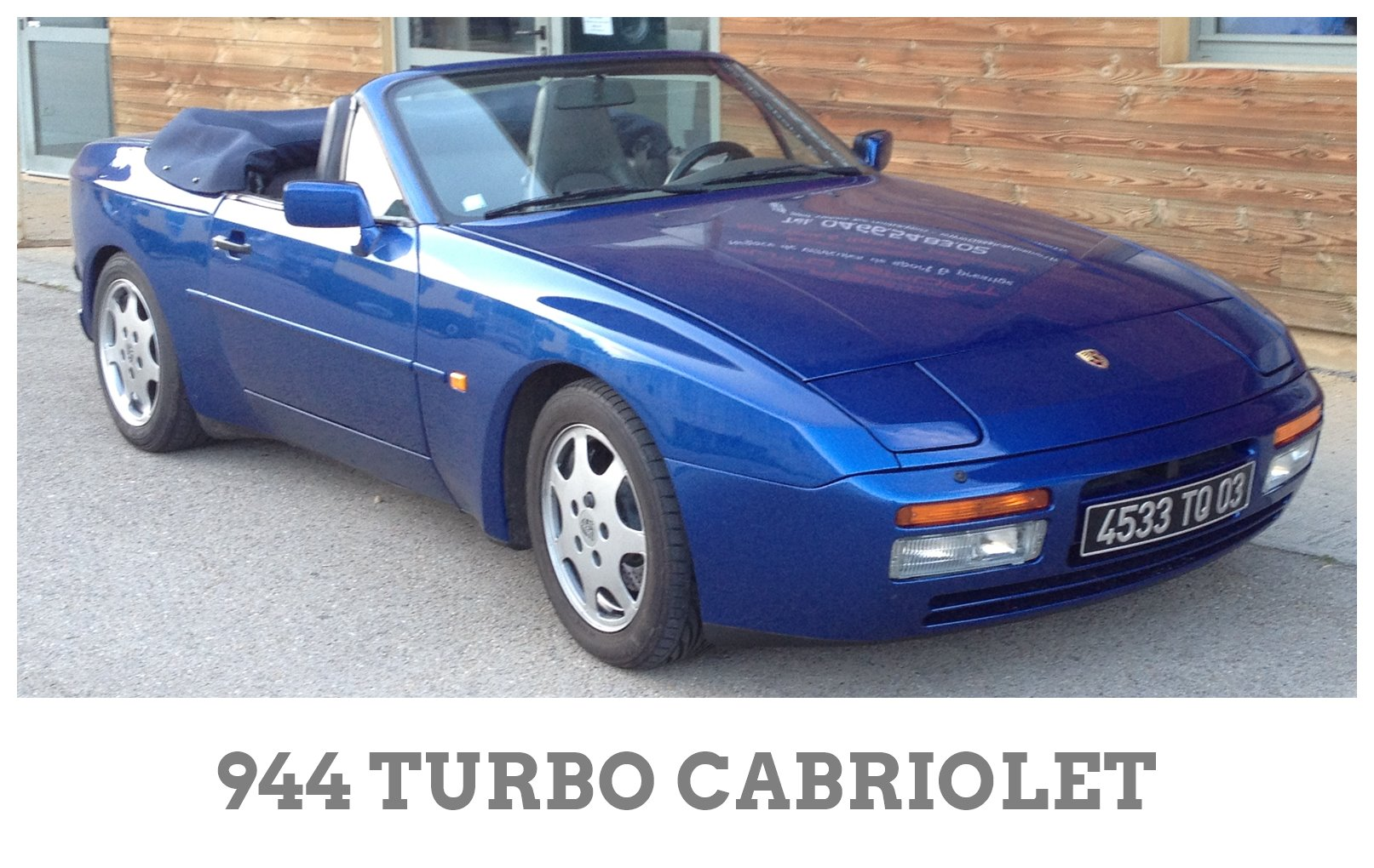 944 TURBO CABRIOLET
